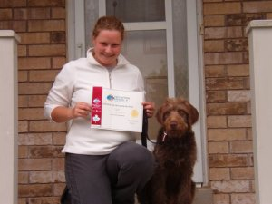 Hartley Graduating Puppy Class